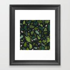 Fern & Foliage Framed Art Print