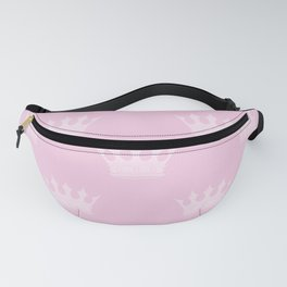 Princess Charlotte Pink- Royal Princess Rose Crowns Fanny Pack