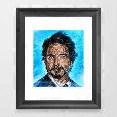 RD JR Framed Art Print