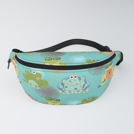 I love frogs Fanny Pack