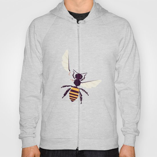 H is for honey bee  Hoody