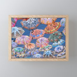 Umbrella Canopy 2 Framed Mini Art Print