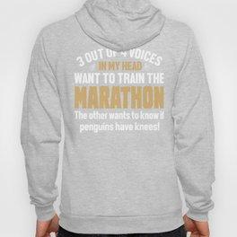 Marathon Runner Voices In My Head Hoody