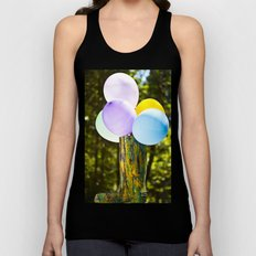 Boot And Balloons Unisex Tank Top