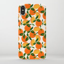 Oranges and Lemons iPhone Case