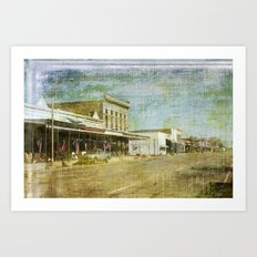 Any Town USA Art Print