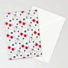 Anemone Print Stationery Cards