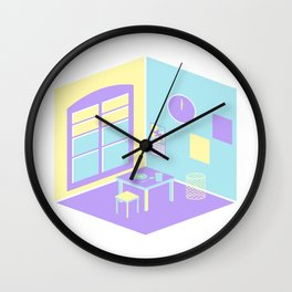 Delicate Walls Wall Clock