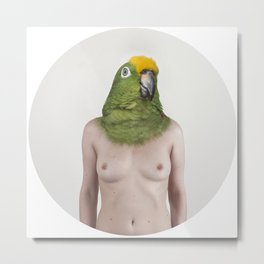 Therianthrope - Parrot Metal Print