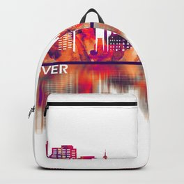 Hanover Germany Skyline Backpack
