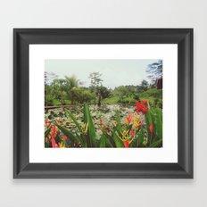 Ubud Garden Framed Art Print