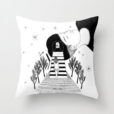 Into Your Dream Throw Pillow