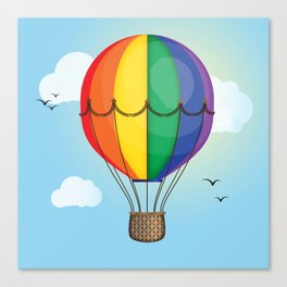 Unity Balloon Canvas Print
