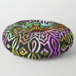 bohemian marble mandala Floor Pillow