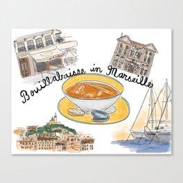 Bouillabaisse in Marseille Canvas Print