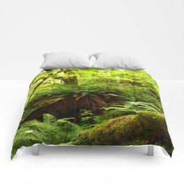 Rainforest Ferns Comforters