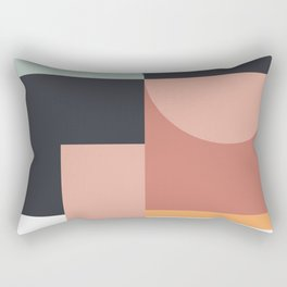 Abstract Geometric 07 Rectangular Pillow