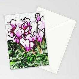 PHIPPS CYLAMEN Stationery Cards