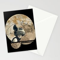 Moon Maiden Stationery Cards