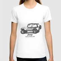 jeep T-shirts featuring Jeep by Mister Abigail