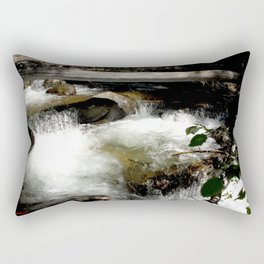 Cascades on Fall Creek in the Weminuche Wilderness, No. 1 of 2 Rectangular Pillow