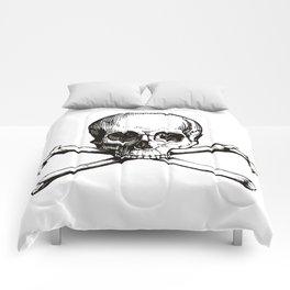 Skull and Crossbones   Jolly Roger Comforters