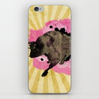 bull iPhone & iPod Skins featuring Bull by Jean-Michel Lopez