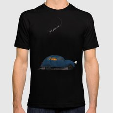 let's take a ride.. Mens Fitted Tee Black MEDIUM