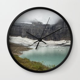 Grinnell Glacier - Expiration Date 2030 Wall Clock