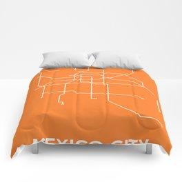 Metro DF - Orange Comforters