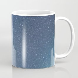 Starry sky with millions of stars, Milky Way galaxy Coffee Mug