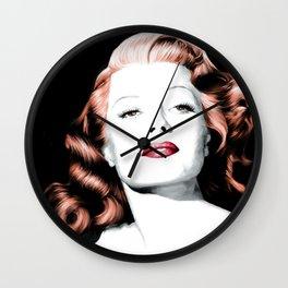 Rita Hayworth Large Size Portrait Wall Clock