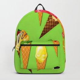Ice cream-Light green Backpack