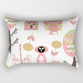 Monsters pattern 5m Rectangular Pillow