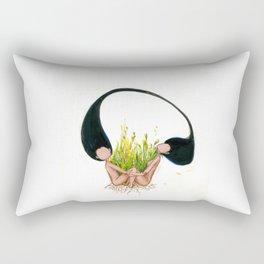 Garden of Hope Rectangular Pillow