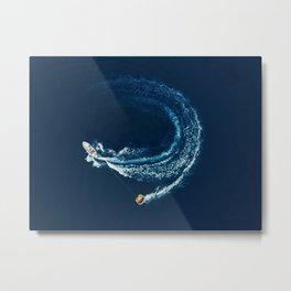 Summer Watersports  Metal Print