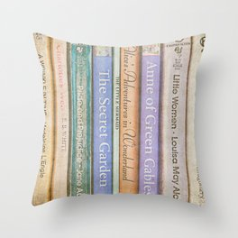 Storybook Throw Pillow