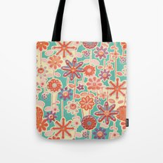 Motivo floral 2 Tote Bag