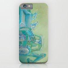 Traktor blue iPhone 6s Slim Case