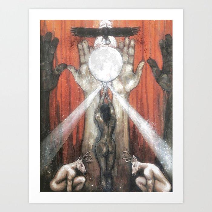 The Empress - Tarot Card Art Art Print