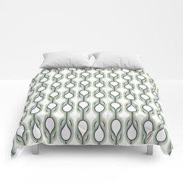 Retro-Delight - Double Drops - Mint Comforters