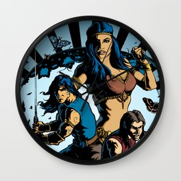Wonder And Adventure: Dream Tower Media, Rogues of Merth Wall Clock