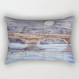Bridge at night Rectangular Pillow