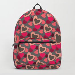 Valentine's Day patern Backpack