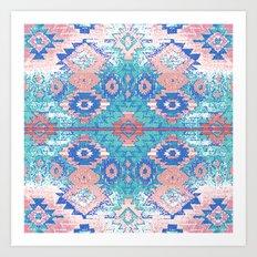 jemez in opal Art Print