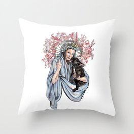 Carrie and Gary Throw Pillow