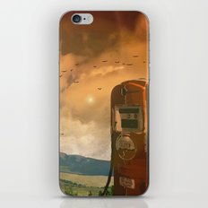 old fuel pump iPhone & iPod Skin