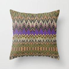 zig-zag fun! Throw Pillow