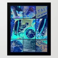 italy Art Prints featuring Italy by Vic[tori]a Little