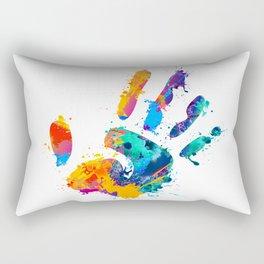 Hand tastic Rectangular Pillow